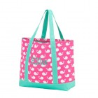 pink whale tote