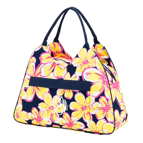 beachy Floral beach bag