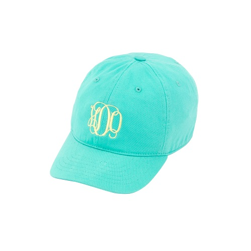aqua kidsembroidered hats