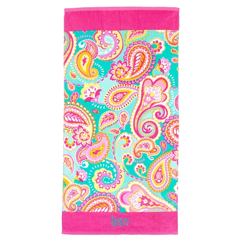Summer Paisley towel