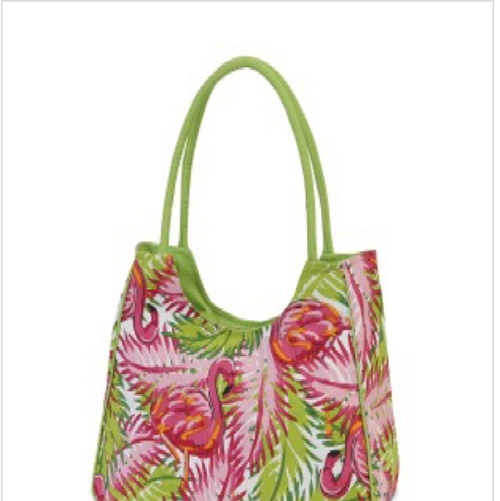 flamingo bag