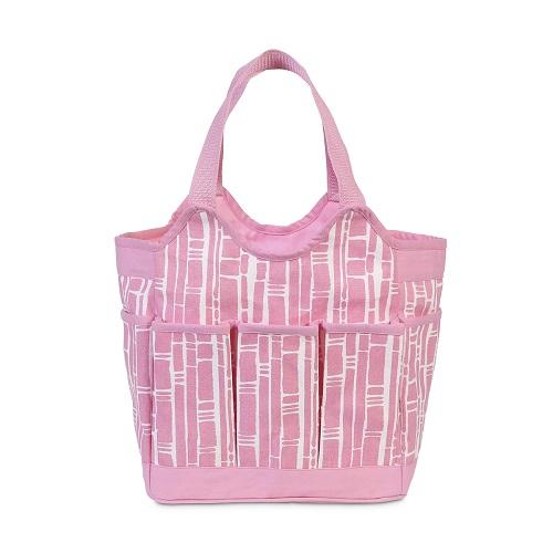 pink bamboo diaper bag