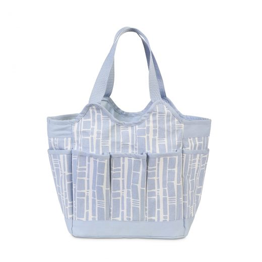 blue bamboo diaper bag