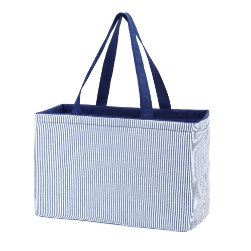 seersucker ultimate tote