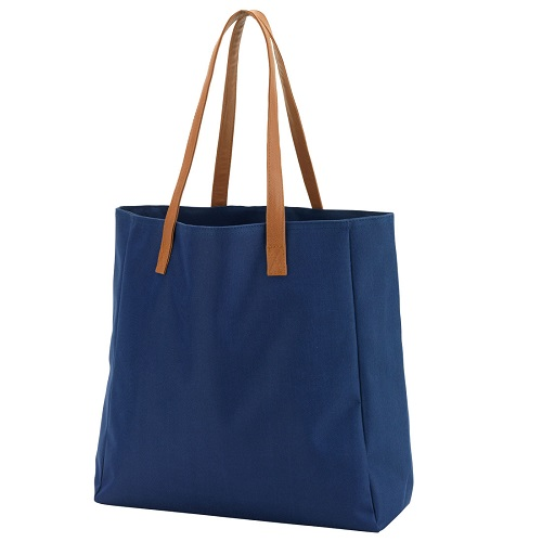 Navy game day tote