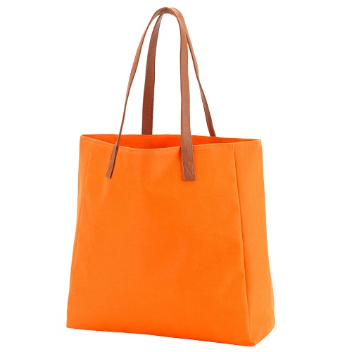 orange game day tote